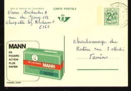 Publibel Huy - 2439F - Chapelle Lez Herlaimont 1972 - Stamped Stationery