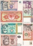 Billets De Banque/ Pérou/vrac/Intis Et Soles De Oro/6 Billets Différends /                               BIL87 - Alla Rinfusa - Banconote