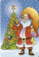 CALENDARIO DEL AÑO 2002 DE PAPA NOEL (NAVIDAD-CHRISTMAS) (CALENDRIER-CALENDAR) - Calendari