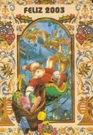 CALENDARIO DEL AÑO 2003 DE PAPA NOEL (NAVIDAD-CHRISTMAS) (CALENDRIER-CALENDAR) - Calendarios