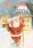 CALENDARIO DEL AÑO 2004 DE PAPA NOEL (NAVIDAD-CHRISTMAS) (CALENDRIER-CALENDAR) - Calendari