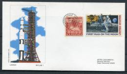 1973 USA NASA Skylab 1 Launch SL-1 Kennedy Space Center Astro Cover - Covers & Documents