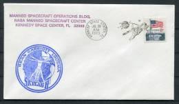 1973 USA NASA Skylab 2 Kennedy Space Center Cover - Covers & Documents