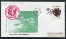 1973 USA NASA Skylab 2 Flight Record Kennedy Space Center Cover - United States