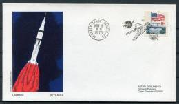 1973 USA NASA Skylab 4 Launch Kennedy Space Center Astro Cover - Covers & Documents