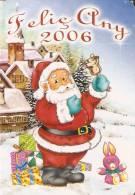 CALENDARIO DEL AÑO 2006 DE PAPA NOEL (NAVIDAD-CHRISTMAS) (CALENDRIER-CALENDAR) - Calendari