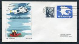 1974 USA NASA Skylab 4 Splashdown Astro Space Cover - Covers & Documents