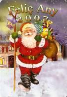 CALENDARIO DEL AÑO 2007 DE PAPA NOEL (NAVIDAD-CHRISTMAS) (CALENDRIER-CALENDAR) - Calendarios