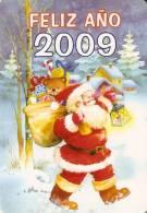 CALENDARIO DEL AÑO 2009 DE PAPA NOEL (NAVIDAD-CHRISTMAS) (CALENDRIER-CALENDAR) - Calendarios