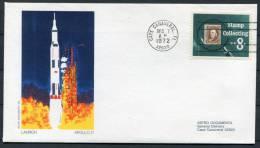 1972 NASA Apollo 17 Launch Astro Cover - Cape Canaveral - Covers & Documents