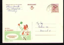 Publibel - 2280N - Steendorp 1969 - Stamped Stationery
