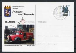 Germany Hattingen Feuerwehrmuseum Stationery Card - Firemen