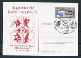 1987 Germany Strullendorf Feuerwehr Fire Brigade Postcard - Firemen