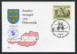 1997 Austria Gars Am Kamp Feuerwehr Fire Brigade Postcard - Firemen