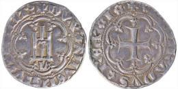 """[DO] GENOVA - Gabriele Adorno """"Doge 5"""" (1363-70)   GROSSO (Argento / Argent) - Monnaies Régionales"""