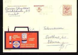 Publibel - 2254V - Aalst 1968 - Stamped Stationery
