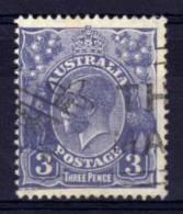 Australia - 1929 - 3d Definitive (Die II) - Used - Used Stamps