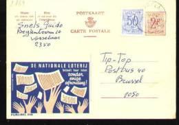 Publibel - 2169 - Vosselaar - Stamped Stationery