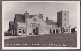 ISLE OF MAN  Fort Island Derby Haven Golf Links Hotel  RP  Iom9 - Isle Of Man