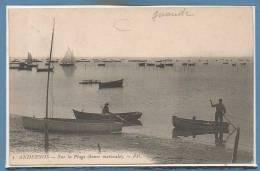 33 - ANDERNOS Les BAINS -- Sur La Plage.... - Andernos-les-Bains
