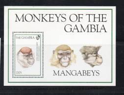 LOT N° 462 - GAMBIE BF 224 ** -  SINGE - Cote 11 € - Scimmie