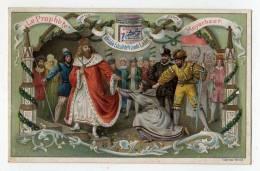 Chromo Liebig Dorée S 391 Opéra Auteur Le Prophète Meyerbeer Clergé Roi évêque Seigneur Prière Palais Décor - Liebig