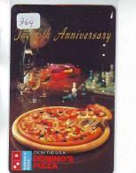 Télécarte Japon Sport Jeu ECHECS (364) Pizza * ITALY RELATED * CHESS Japan Phonecard * SCHACH Telefonkarte - Jeux