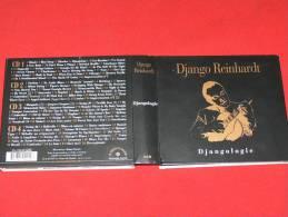 DJANGO REINHARDT DJANGOLOGIE 4CD   AVEC LIVRET HARMONIA MUNDI 2010 - Jazz