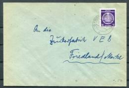 DDR East Germany Dienstpost Brief - DDR