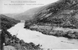 Brésil, état De Rio Grande Do Sul, Transport Du Bois Par Radeau - Brésil