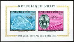 Haiti 1960 Olympic Games, Rome Imperf. MNH - Lot. A142 - Haiti