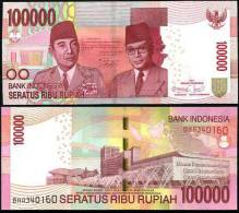 INDONESIA 100,000 100000 RUPIAH 2011/2004 P 146 UNC - Indonésie