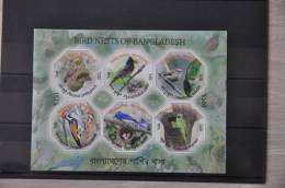 G 232 ++ BANGLADESH 2012 ++ VOGELS BIRDS NESTS OISEAUX ++ POSTFRIS MNH ** - Bangladesh