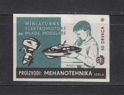MATCHBOX  LABELS - Modeling - Mehanotehnika Izola (Slovenia). - Autres