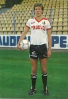 FOOT - VILFORT KIM Dans Un Stade - Né à COPENHAGUE  - CPM De 1985 - PUB PUMA -PEAUDOUCE-REGION NORD PAS DE CALAIS - Soccer