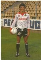 FOOT - CYRIAQUE DIDAUX 25 Ans Né à CAMBRAI -CPM De 1985 -PUB PUMA -PEAUDOUCE-REGION NORD PAS DE CALAIS - Soccer
