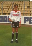 FOOT -PRIMORAC BORO Dans Un Stade - INTERNAT.YOUGOSLAVE- CPM De 1985 - PUB PUMA -PEAUDOUCE-REGION NORD PAS DE CALAIS - Soccer