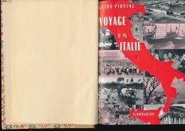 GUIDO PIOVENE (1958) Voyage En Italie (Tome II) : Campanie, Sicile, Calabre, Sardaigne, Rome, Pouilles, Latium, Lucanie - Tourisme