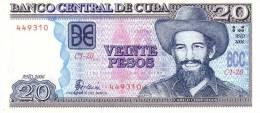 Cuba P.122  20 Pesos 2006 Unc - Cuba