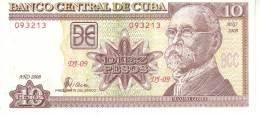 Cuba P.117   10 Pesos 2008 Unc - Cuba