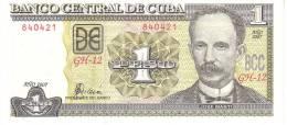 Cuba P.121   1 Peso 2007 Unc - Cuba