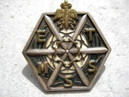 ANCIEN INSIGNE DES TRANSMISSIONS EMSST ? (Attache Non Conforme) DRAGO PARIS - Esercito