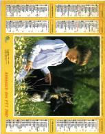Calendrier  G-F  Des  Postes De Pyrenées-Atlantique  64  De 1987 - Calendars