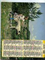 Calendrier Des Poste De La Haute-Loire  43 De 1988 - Calendars