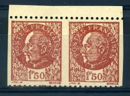 FRANCE FAUX PETAIN (non Dentelés Vertical) - Unused Stamps