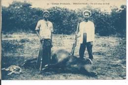 CONGO - BRAZZAVILLE - Un Joli Coup De Fusil - Congo - Brazzaville