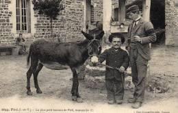 Piré (I. -et-V.) Le Plus Petit Homme De Piré, Mesure 0m 95  Très Bon état - France