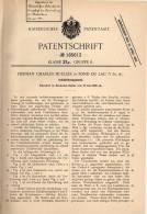Original Patentschrift - H. Mueller In Fond Du Lac , USA , 1905 , Induktionsapparat !!! - Historische Dokumente
