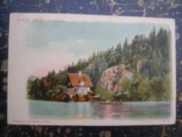 Veldeser See Mit Villa Terdina-Bled-LITO?-1921         (1812) - Slowenien