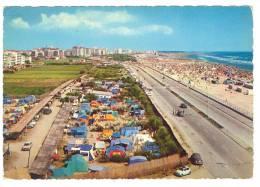 C1751 Lido Di Sottomarina - Chioggia (Venezia) - Camping E Lungomare / Viaggiata 1968 - Chioggia